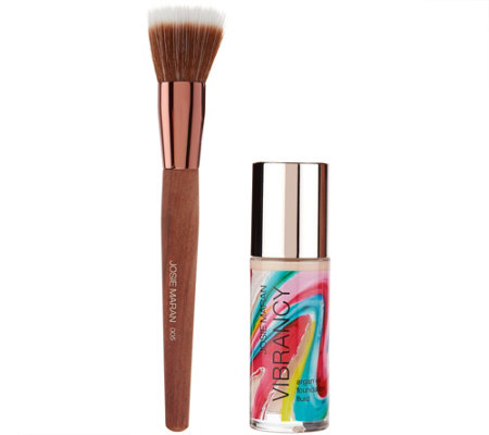 Josie Maran Argan Vibrancy Foundation Fluid w/ Brush Auto-Delivery