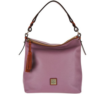 Dooney & Bourke Pebble Leather Small Sloan Hobo - A282404