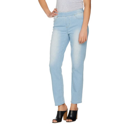 Women with Control Regular My Wonder Denim Pull-On Jeans