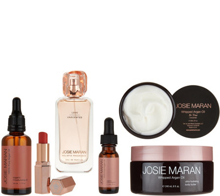 Josie Maran Peace, Love & Joy Argan Body & Fragrance Set