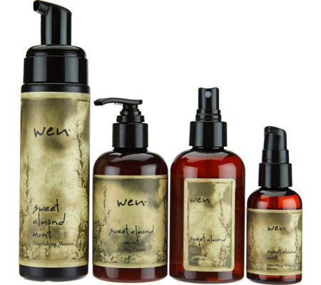 WEN by Chaz Dean Classic Styling Essentials 4-Pc Collection