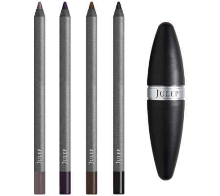 Julep When Pencil Met Gel Eyeliner 4-pc Collection w/ Sharpener