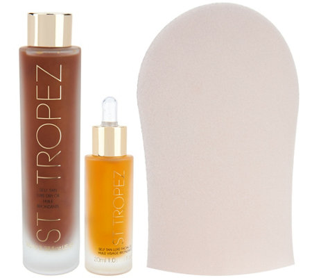 St. Tropez Dry Luxe Oil Face & Body Duo
