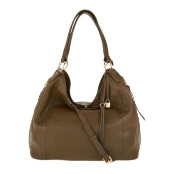 G.I.L.I. Pebble Leather Slouchy Wing Hobo