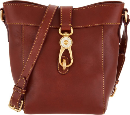 """As Is"" Dooney & Bourke Florentine Sadie Feed Handbag"
