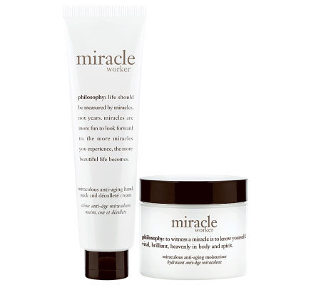 philosophy miracle worker moisturizing duo