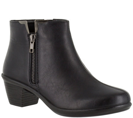 Easy Street Ankle Boots - Clear