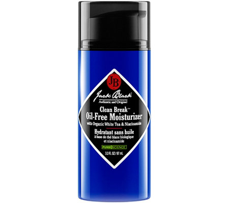 Jack Black Clean Break Oil-Free Moisturizer, 3.3 oz