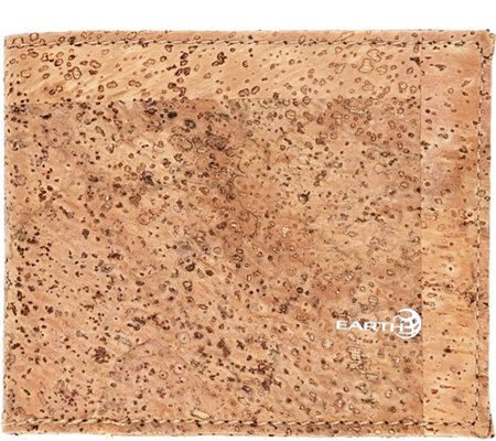 Earth Cork Amadora Wallet - Khaki