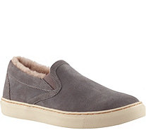 Cougar Waterproof Suede Slip-On Shoes - Fawn - A361904