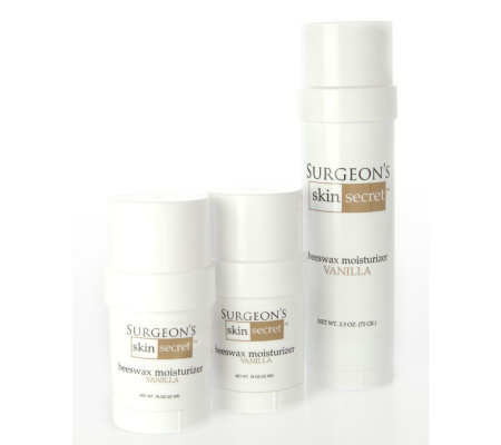 Surgeon's Skin Secret 3pc Travel Pack - Vanilla