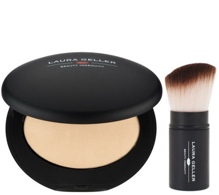 Laura Geller Baked Elements Foundation with Brush