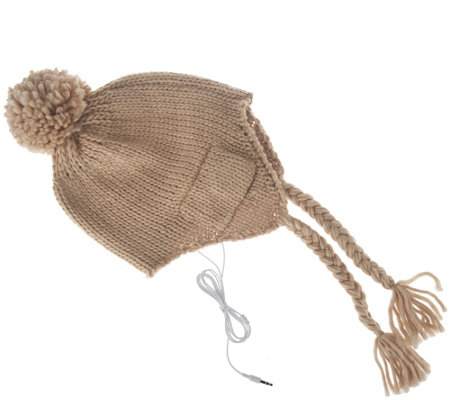 Collection 18 Heidi Tech Hat with Tassels