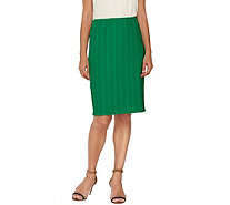 Linea by Louis Dell'Olio Pull-On Pencil Skirt - A265605