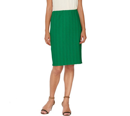 Linea by Louis Dell'Olio Pull-On Pencil Skirt
