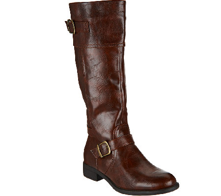 BareTraps Tall Shaft Boots with Buckle Details - Redford