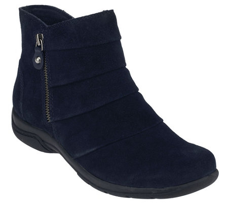 """As Is"" Clarks Suede Water Resistant Boots - Chris Sway"