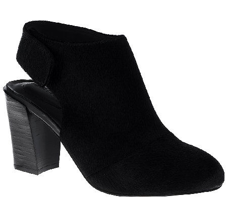 Adam Tucker Haircalf Ankle Booties - Jenna