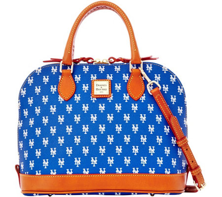 Dooney & Bourke MLB Mets Zip Zip Satchel