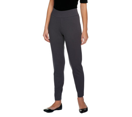 """As Is"" Liz Claiborne New York Petite Ponte Knit Leggings"