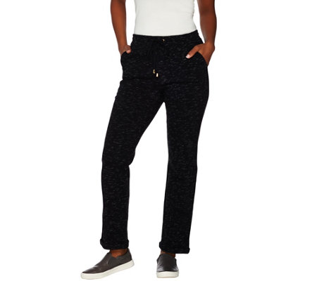 """As Is"" C. Wonder Pull-On Lounge Pants with Tie Waist"