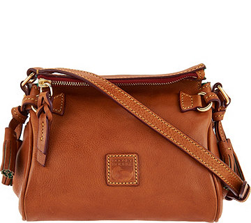 Dooney & Bourke Florentine Leather Mini Zip Crossbody - A286305