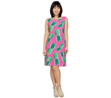 C Wonder Pinele Print Sleeveless Knit Dress