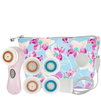 Clarisonic Mia2 Sonic Cleansing System w/1-Yr of Brush Heads & LOGO Bag