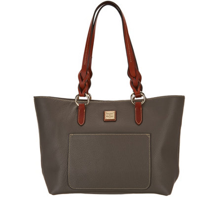 Dooney & Bourke Pebble Leather Tote -Pammy