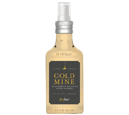 Drybar Gold Mine Shimmering Leave-In Conditioner, 3.4 oz