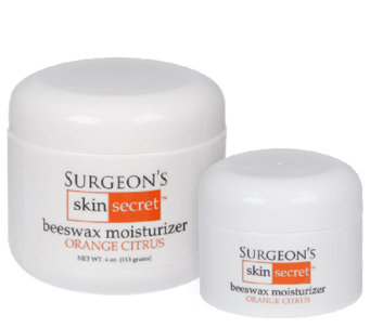 Surgeon's Skin Secret 2-Pc Orange Citrus Beeswax Moisturizer - A337805