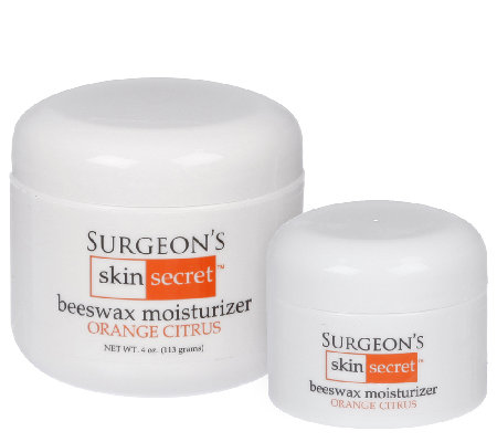 Surgeon's Skin Secret 2-Pc Orange Citrus Beeswax Moisturizer