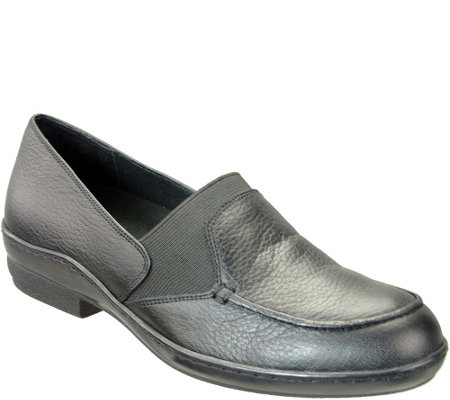 David Tate Leather Flats - Stretchy