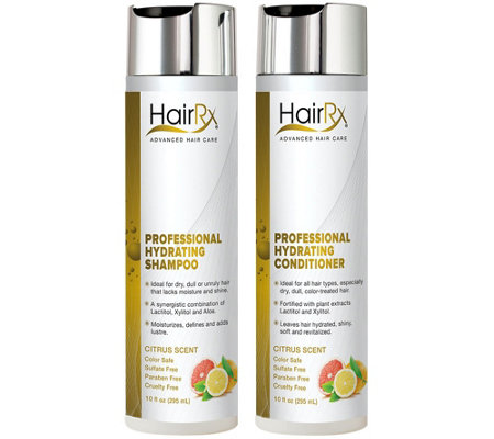 HairRx Professional Hydrating Duo Luxe Lather -Citrus