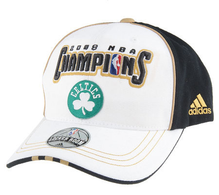 2008 Nba Champions Boston Celtics Locker Room Cap By