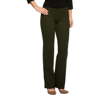 Women with Control Comfort Fold Tall Length Knit Pants