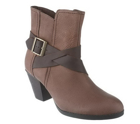 clarks bendables fox indo leather side zip ankle boots