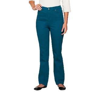 Liz Claiborne New York Regular Hepburn Colored Jeans - A256506