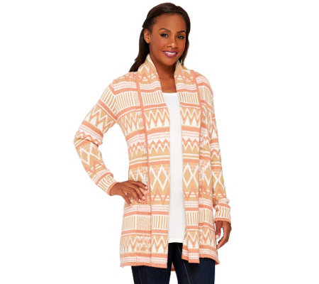 Liz Claiborne New York Heritage Collection Open Sweater