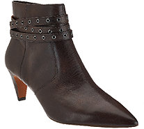 G.I.L.I. Leather Pointed Toe Ankle Boots - Kodelle - A269806