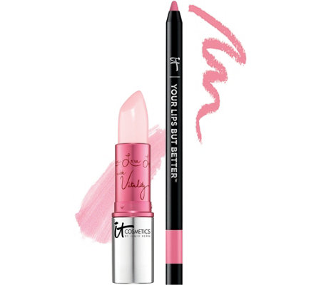 IT Cosmetics IT's Your Je Ne Sais Quoi Perfect Pink Lip Duo
