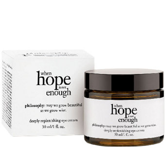 philosophy when hope is not enough eye cream 1oz Auto-Delivery - A276906