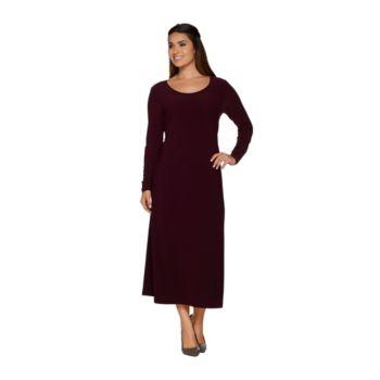 Linea by Louis Dell'Olio Regular Scoop Neck Midi Dress