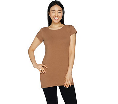Attitudes by Renee Essentials Cap Sleeve Top - A296406