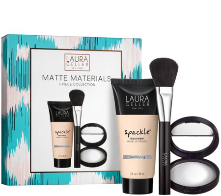 Laura Geller Matte Materials 3-piece Kit