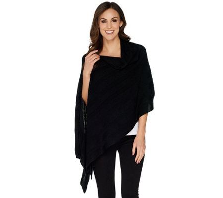Attitudes by Renee Cozy Sweater Poncho
