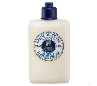 L'Occitane Ultra Rich Shower Cream, 8.4 oz - A316606