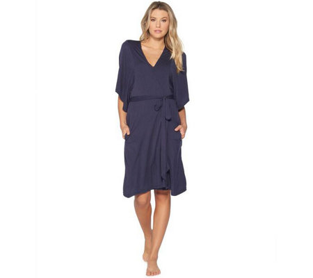 Barefoot Dreams Luxe Milk Jersey Short Robe