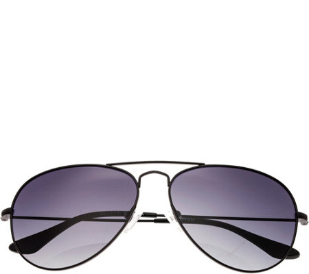 Bertha Brooke Black Sunglasses w/ Polarized Lenses