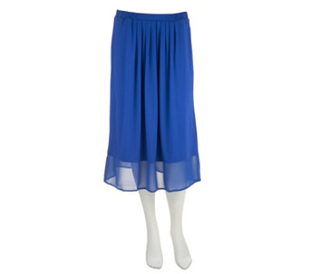 Linea by Louis Dell'Olio Pull-on Knit Midi Skirt - A253407